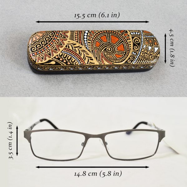 Case for reading glasses sizes