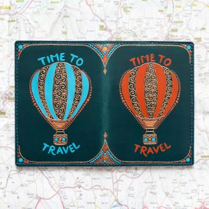 Air baloon passport cover
