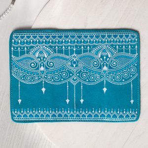 Blue boho passport cover3