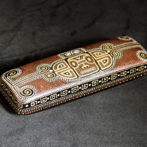 Mayan glasses case