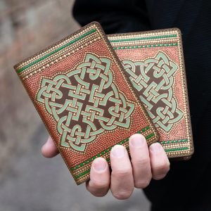 Celtic passport cover