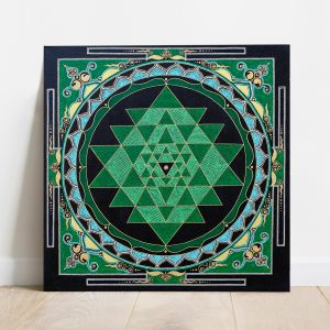 Sri Yantra canvas art